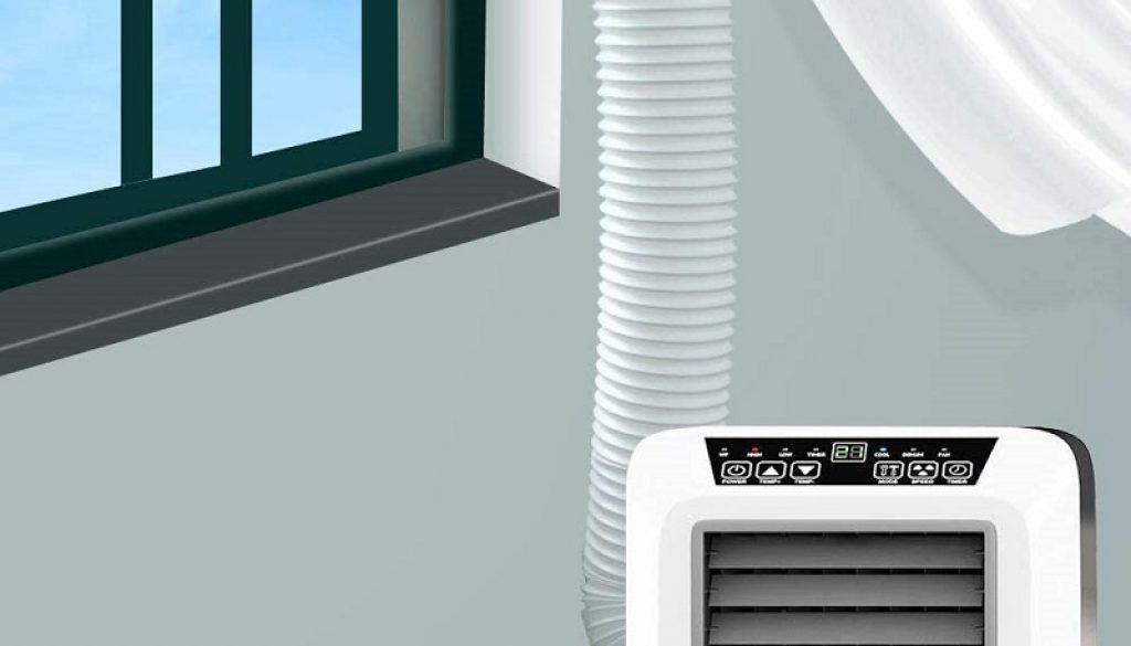 évacuer l'eau climatiseur mobile